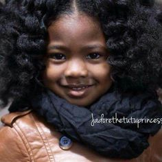 Adorable Little Curly Girl