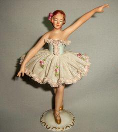 lteste volkstedter porzellanmanufaktur t nzerin ballerina porzellan um 1900 porcelain. Black Bedroom Furniture Sets. Home Design Ideas