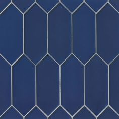 Verve Wall Mosaic in Starry Night By Bedrosian Tile & Stone Blue Mosaic Tile, Mosaic Glass, Glass Tiles, The Verve, Tile Stores, Stick On Tiles, Geometric Background, Decorative Tile, Wall Treatments
