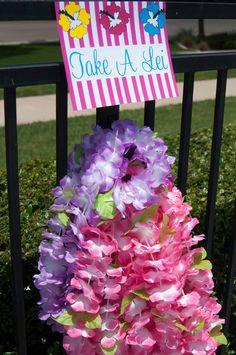 Luau Theme Summer Party Ideas | Photo 1 of 30 | Catch My Party