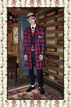 Gucci Pre-Fall 2016 Men's Collection Lookbook