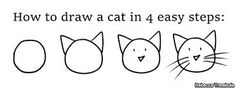Rebecca Trembula - How to Draw a Cat in 4 Easy Steps