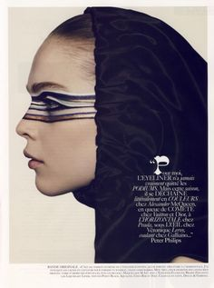 Kim Noorda by Mark Segal for Vogue Fr Aug 2007