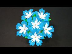 Easy Paper Flowers Making/Handmade Paper Flower at Home/DIY/Paper craft/Paper art/Beautiful Flowers - YouTube Vj Art, Diy Paper, Paper Crafts, How To Make Paper Flowers, Flower Making, Beautiful Flowers, The Creator, Arts And Crafts, Bouquet