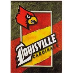 University of Louisville Cardinals Large House Flag Banner