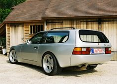 944 shooting brake by DP.  Rear seat should be usable for adults with short legs :)