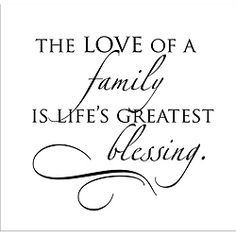 Vinyl Attraction 'The Love of a Family' Vinyl Wall Decal - Overstock™
