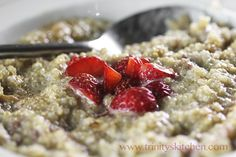 Quinoa Breakfast Bowl close