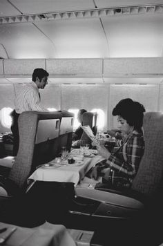 Swissair 747 First Class