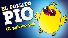 El Pollito Pío - En español with captions.