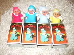 VINTAGE BABY WILLIAM MINI BEAN MATCHBOX DOLL (04 23 2011) 054239bdbf91