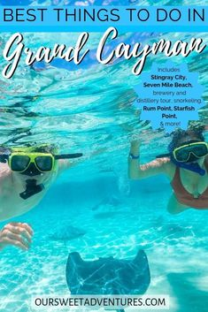 After first-hand experiene, I have the ultimate list of the best things to do in the Grand Cayman. From Stingray City to distillery tours - I have it all! Best Snorkeling, Best Scuba Diving, Grand Cayman Island, Cayman Islands, Caribbean Vacations, Caribbean Cruise, Island Pictures, Maui Vacation, Italy Vacation