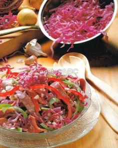 Vöröskáposzta-saláta   Receptek