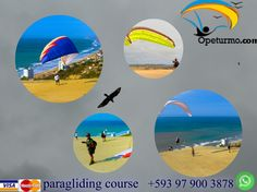 Paragliding Course Guayaquil Ecuador You can learn from this sport full of adrenaline and adventure and experiences with certified instructors. Where else to experience something new you can make out the beautiful landscapes of another sphere . Feel free like a bird.