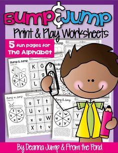 Alphabet Bump & Jump Freebie