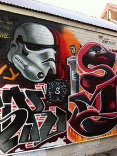 Mesk, Stormtrooper & 'Sime' by Simplesime, South Melbourne
