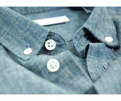 Drapeau Noir Shirt Kuroki Chambray Blue / Novoid Plus
