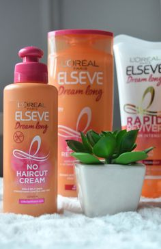 Review: L'Oreal Elseve Dream Long Haircare Products - Bloggerissa Split Ends, L'oréal Paris, Beauty Make Up, Loreal, Hair Care, Holiday, How To Make, Accessories, Hair