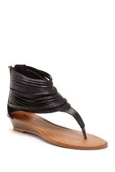 Westwood Wedge Sandal by Assorted on @HauteLook