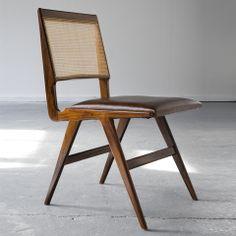 Martin Eisler and Carlo Hauner; Jacaranda and Cane Sidechair for Forma, 1950s.