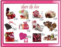 """""""Share the Love: Valentine Gifts for Each Season"""" by mpsakatrixie on Polyvore"""