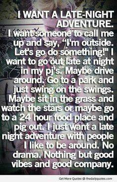 Im going on an adventure!!