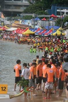 Dragon boat festival 2012  Stanley beach