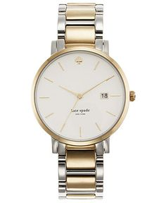 kate spade Gramercy Two-Tone Stainless Steel