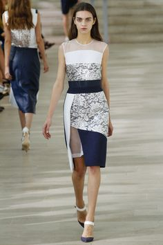 Preen. Spring 2013 Ready to Wear. Gorgeousness. One of my favorite cocktail dress designs this season.
