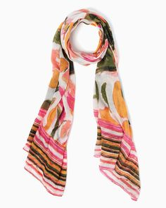 charming charlie | Floral Safari Scarf | UPC: 400000084411 #charmingcharlie
