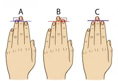 It is unbelievable how much you can discover about your personality by just comparing your ring finger to your index finger. Here are 3 ring and index finger combinations. You can find out which co… Finger Length Meaning, Finger Meaning, Index Finger, Something About You, Palmistry, Personality Types, Numerology, Tricks, Did You Know
