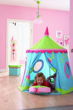 Play tent Caro Lini available at www.hooplaroom.com #playtent #playroom #pretendplay
