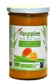 Vicios Brasileiros - Polpa de Manga - 250ml (Fairtrade) Die Mangofrucht ist gut verträglich und sehr aromatisch. Sie ist eine der carotinhaltigesten Früchte, darunter sehr viele seltene Betacarotine; diese stärken als Antioxidanz das Immunsystem, Augen und Haut und minimieren das Krebsrisiko, Herz-Kreislauf-Krankheiten und Alterungsprozesse. Nicht zuletzt ermöglichen sie die Stabilisierung des Blutzuckerspiegels bei gleichzeitig kaum Kalorienzufuhr.