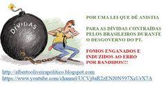 ALBERTO OLIVEIRA - POLÍTICO: ANISTIA!!! #diversão #Feliz #cultura #AlbertoOliveira #Alberto #conto #poesia #Ator #Artista #Globo #Record #SBT #lazer #felicidade #Amor #distrair #engraçado #comedia #rir #YouTube #YouTubers #video #compartilhar #RioDeJaneiro #poesia #poema #beleza #sucesso #Fama #famoso #youtuber #escritor #LeiRouanet #MINC #MinisterioDaCultura #MichelTemer #GovernoTemer #TemerPresidente #Temer #PalhaçadDeCannes #CriançasPassandoFome #Vergonha #Cannes #TapeteVermelho #protesto…