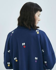 Lazy Oaf Pom Faces Sweatshirt - Everything - Categories - Womens