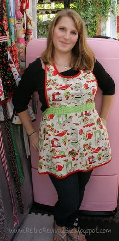 Jillian loves her new apron
