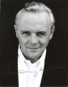 Anthony Hopkins -- I loved him in everything but especially when he played C.S. Lewis.