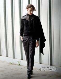 Exclusive Designer Neo-Ludwig The Whale Bones Bay-The Retro Fashion, Mens Fashion, Gothic Fashion Men, Gothic Men, Gothic Steampunk, Steampunk Clothing, Victorian Gothic, Gothic Girls, Dark Fashion