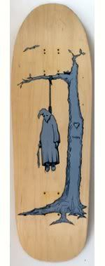 Real, Thiebaud Hanging KKK, 1990