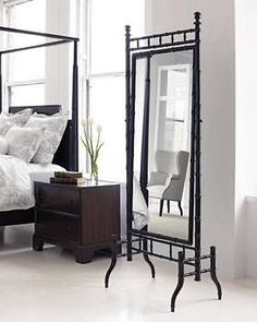 Thomasville Furniture Darryl Carter  Cape Standing Floor Mirror 45117-290