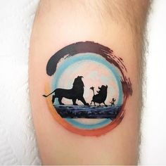 30 Iconic Movies Inspired Tattoos That Will Blow Your Mind - bemethis Lion King Tattoo, Christmas Tattoo, Tattoos, Couple Tattoos, Tattoos For Guys, King Tattoos, Movie Tattoo, Disney Tattoos, Movie Tattoos