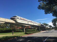Star Wars decal on Walt Disney World monorail