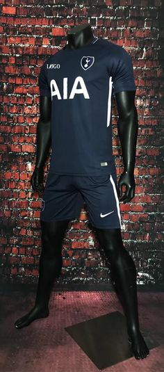 4dd3b757c 19-20 AAA Quality Adult Atletico home Soccer uniforms. 17/18 Adult  TOTTENHAM HOTSPUR AWAY Blue Soccer Jersey Uniforms Men Football ...