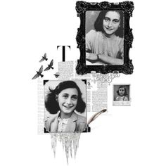 Happy Birthday Anne Frank, created by janeaustenaddict on Polyvore