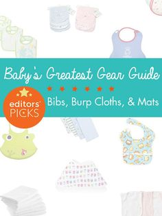 Our gear guides are crowd sourced from hundreds of thousands of parent reviews on weeSpring. Here are our top three recommendations for keeping baby (and you!) clean.