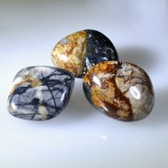 Hold or meditate with Picasso Jasper for stability during times of change or transformation.