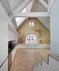 Emrys Architects creates six homes in converted warehouses