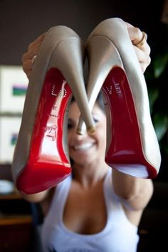 LOVE Christain Louboutin I need to get married in these shoes!!!