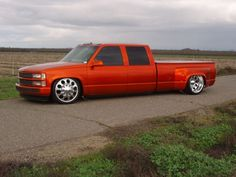 lowered 1997 chevy truck bed trailer - Google Search