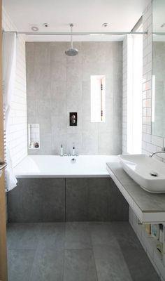 The Cube : Modernistyczna łazienka od Adam Knibb Architects